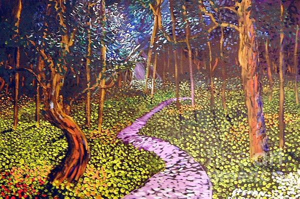 The Path Painting